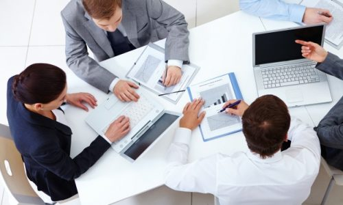 top-view-co-workers-planning-strategy_1098-2959